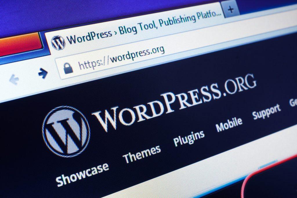 wordpress as music website builder